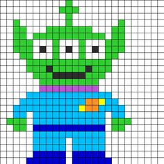 alien-toy-story-perles-a-repasser-hama