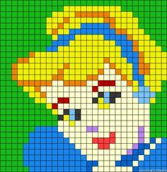 cendrillon-portrait-pixel-perles-a-repasser-hama