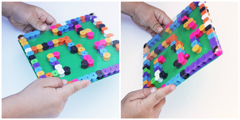 labyrinthe-perles-a-repasser-hama-enfants-activites