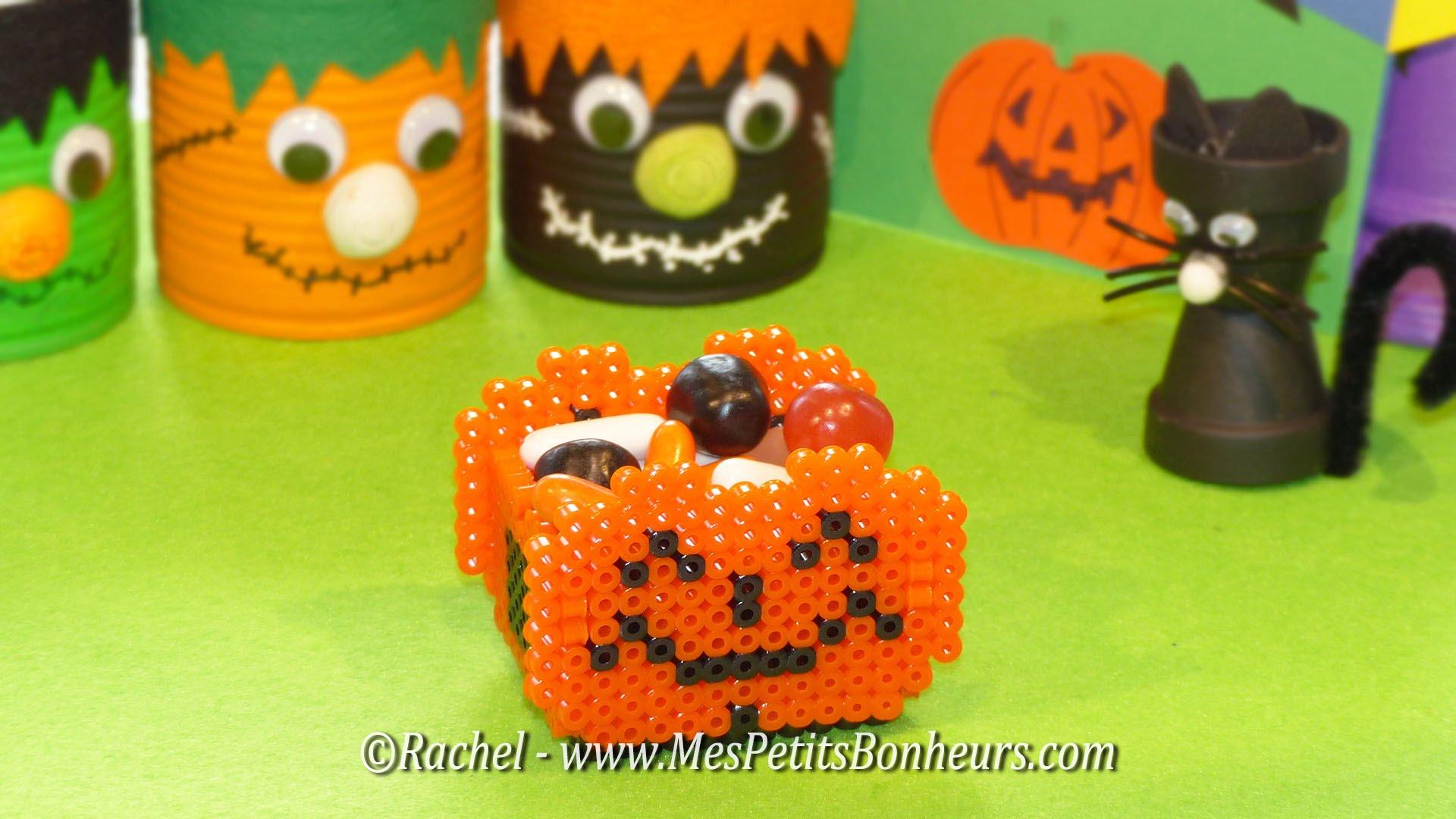 Beautiful Tuto Bricolage Halloween Panier Citrouille En