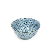 """Shibori Tyedye donburi bowl. 6"""" dia. 9.25 each"""