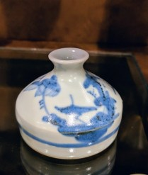 **ITEM NOW SOLD** Small Japanese bud vase. 15.-