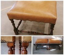 ** ITEM NOW SOLD.**Formations Stools: 1500. /pair.