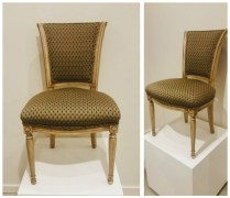Set/4 Louis XVI Style Directoire dining chairs, from Valley Furniture. 1,395. set of four.
