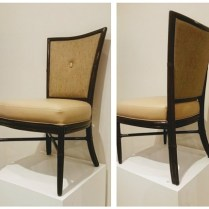 **ITEM NOW SOLD** McGuire Dining Chairs . $1195. Set/4