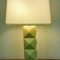 **ITEM NOW SOLD** Marian Jamieson 'Terrapin' lamp. Current List: $2406. Modele's Price: 595.-