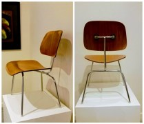 **ITEM NOW SOLD**Pair Vintage Eames Chairs. $595. /pair