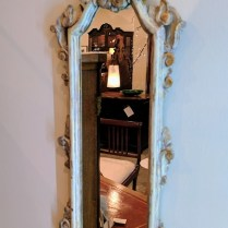 **ITEM NOW SOLD** Small Antique Mirror. 125.-