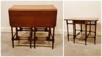 **ITEM NOW SOLD**Vintage Drop Leaf Side Table. 225.-