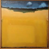 "**ITEM NOW SOLD**William Slater 'Field'. Acrylic on canvas. 1987.30.5"" sqOriginal List: $1800.- Modele's price: 895.-"