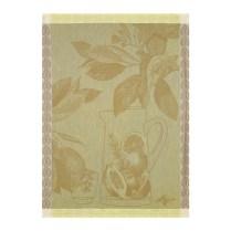 Le Jacquard Francais tea towel. 'Eaux de citron vert'. 100% cotton. 24.-