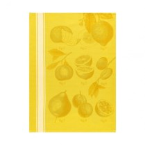 Le Jacquard Francais tea towel 'Citron'. 100% cotton. 23.-