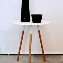 White 'Plain' Table. 65.-