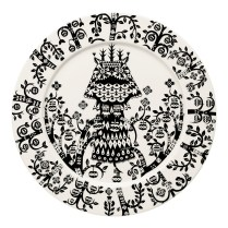 Taika Black and White Plate 27cm. $50. More colors.