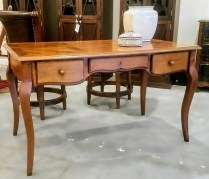 **ITEM NOW SOLD**Grange Writing Desk. Cherry wood. Age not known. Over 10 years old.650.-