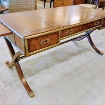 **ITEM NOW SOLD*Ernest Hemingway 'corespondent' writing desk.Original List: $1999.-Modele's Price: 995.-