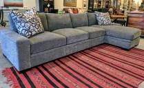 **ITEM NOW SOLD**300 Series Stickley Sofa and chaise. Original List: $7790.- Modele's Price: 3950.-