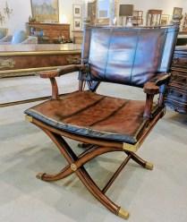"**ITEM NOW SOLD**Thomasville Ernest Hemingway ""Correspondent' chair. Original List: $749.-Modele's Price: 350.-"