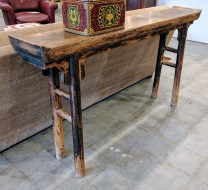 **ITEM NOW SOLD**Antique Chinese altar table.695.-