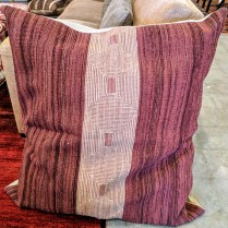 "**ITEM NOW SOLD** Large floor pillow. Fiber fill. 39"" x 43"". 150.-"
