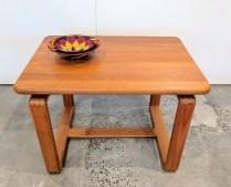 **ITEM NOW SOLD**Solid teak side table. Solid Teak side table. Made by Tarm Stole Og Mobelfabrik. 175-
