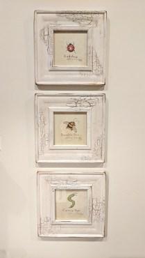 *ITEM NOW SOLD** Set 3 framed art pieces. 95.-/set 3