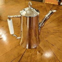 **ITEM NOW SOLD**Michael Aram 'Bamboo' collection coffee pot. 5-7 years old. Very light use. Discontinued style. 95.-