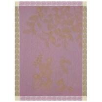 Le Jacquard Francais 'Eaux de fruits rouges blackberry tea towel'. 100% cotton. 23.-