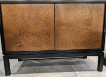 "**ITEM NOW SOLD** Crate & Barrel 'Cirque' sideboard. 7 years old, adjustable interior shelves. 47.5""w x 19.25""d x 34""h Current List: $1,149. Modele's Price: 595.-"