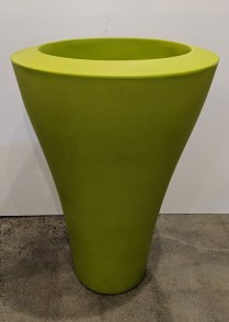 "**ITEM NOW SOLD** Serralunga tall Ming pot, never used. Available in green, white, red. 26""d. x 39.25""h. Orig. List: $625. Modele's Price: 195. each BUY TWO, GET ONE FREE (equal or lesser value)"