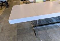 Detail of extension on B&B Italia 'Athos 05' extension table.