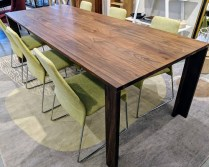 "**ITEM NOW SOLD** Design Within Reach (DWR) 'Mapp' dining table. American black walnut, made in USA. Designed by Air Division, discontinued style, 3 years old, very light use. 92""l x 36""w x 29.5""h. Orig. List: $4,000. Modele's Price: 1950.-"