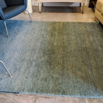 """**ITEM NOW SOLD** Tufenkian 'Twilight Spring Lake' rug. 9-10 years old, very light use. Handmade in Armenia, wool. 6' x 8' 8.5"""" Current List: $4,050. Modele's Price: 1250.-"""