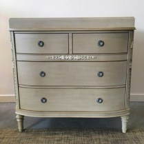 """**ITEM NOW SOLD** Restoration Hardware """"Elise' dresser with changing table option (removable). Purchased in 2014, never used. 38""""w x 21""""d x 37.25""""h. Orig. list: over $1,400. Modele's Price: 750."""