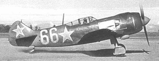 Lavochkin-La-5-White-66-taxing-Russia-01
