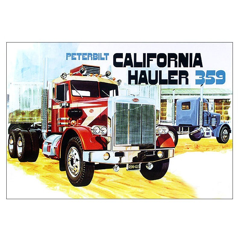 peterbilt 359 california hauler truck model kit peterbilt model 367 wiring diagram wiring automotive wiring diagrams  at edmiracle.co