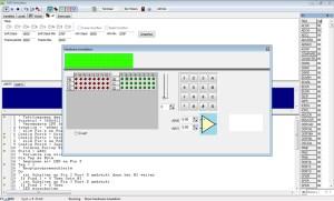 BASCOM und Modellbahn - Screenshot einer Entwicklung für die Modellbahn.