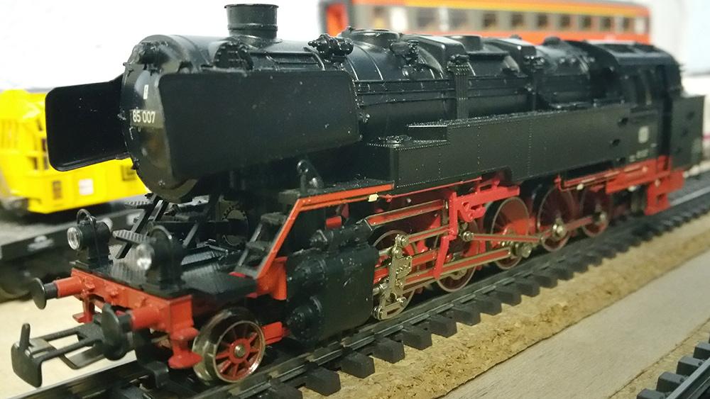 Märklin BR 85 auf der Modellbahn