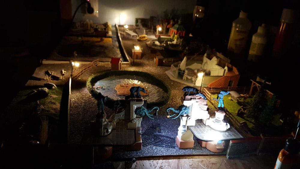 Beleuchtung im Zoo Miningen mit erstem Light-Decoder