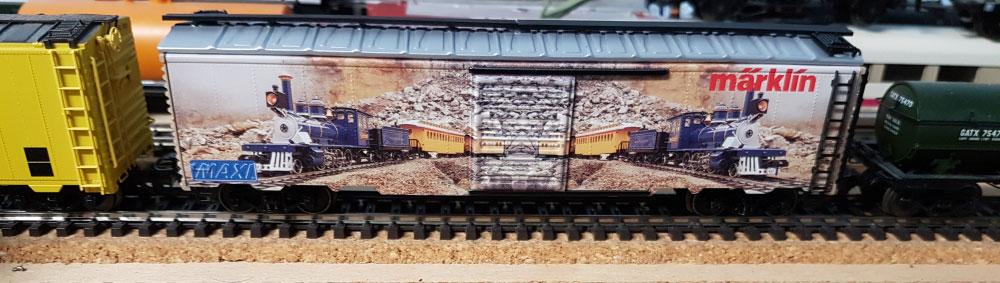 """Märklin 45641 - """"MAXI"""" US- Box Car Metallmodell"""