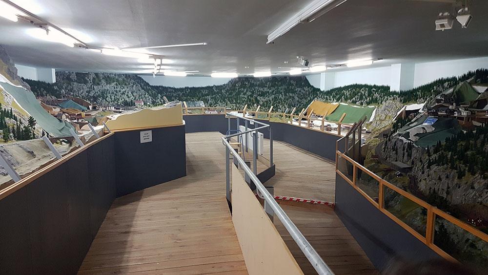 Ein Teil der Anlage im Panorama-Blick