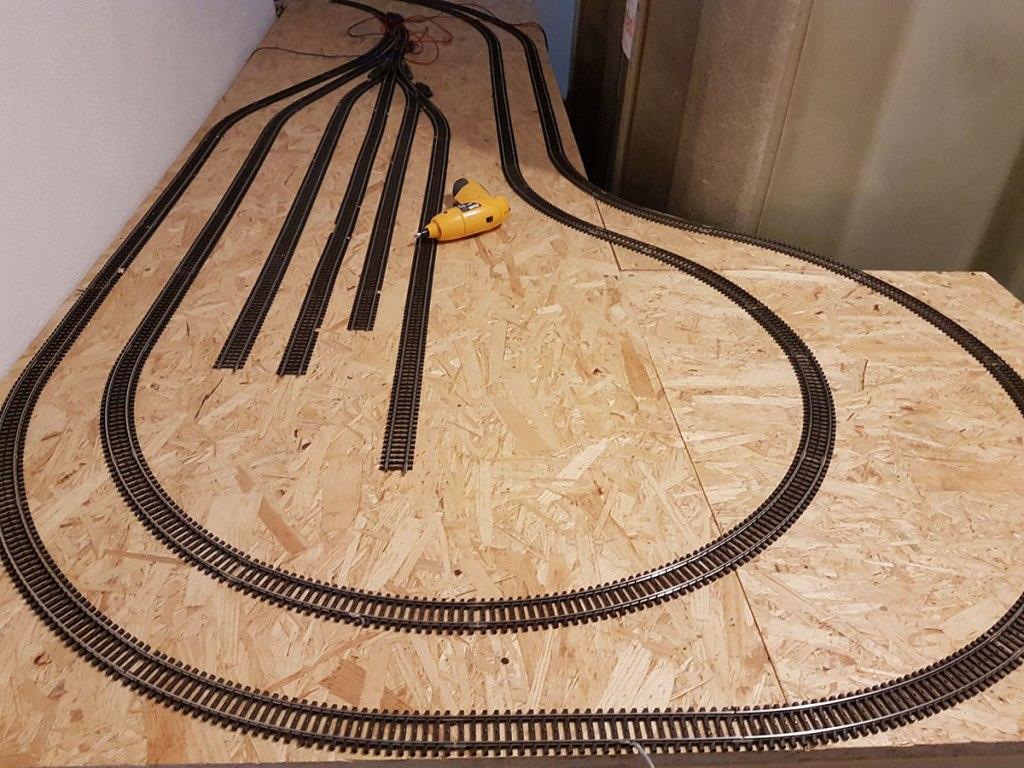 Umbau des Schattenbahnhofs bzgl. der Holzkonstruktion
