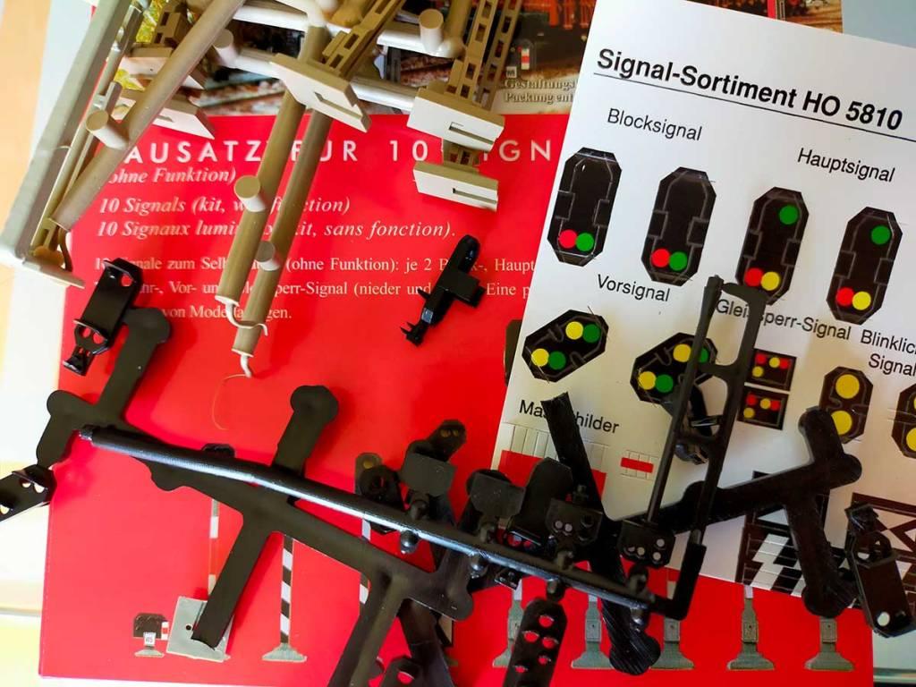 Busch-Signalbausatz H0 5810 Modellbahn-Anlage - kann man damit Signale selber bauen?