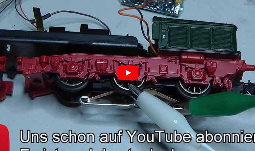 Modellbahn-Tutorials.de - Folge 2: Einbau ESU Loksound 5 in Märklin Lokomotive
