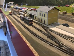 Schmalspurbahnbahnhof
