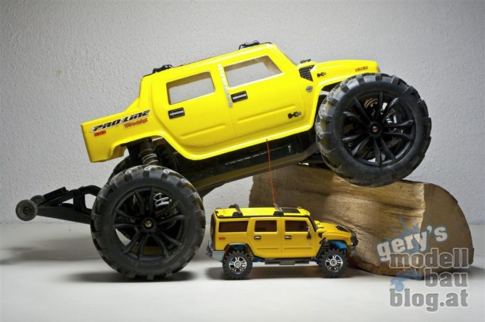 Traxxas Stampede VXL with my Hummer H2 Body