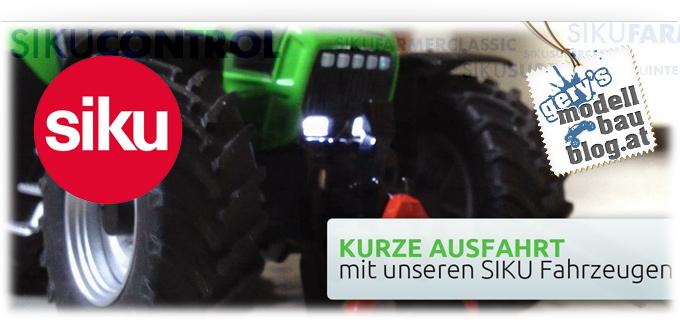 Siku Controll 32 – MAN Tieflader & DEUTZ- FAHR Agrotron in Action