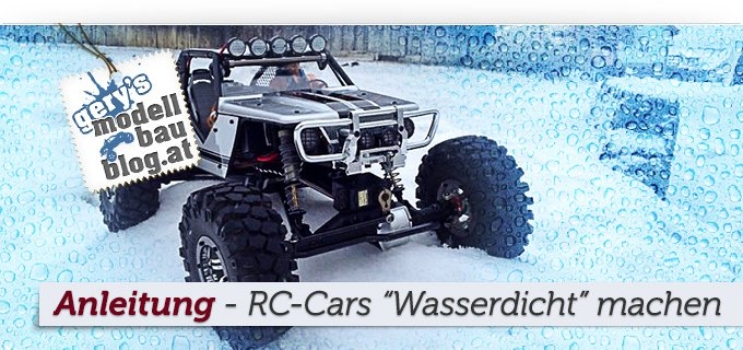 Artikelgrafik - How-To: rc car wasserdicht machen