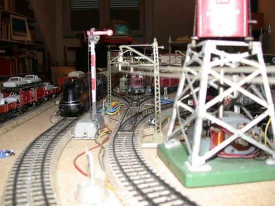 Die provisorische Tischbahn H0
