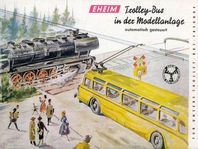 Brawa-Eheim trolley Bus